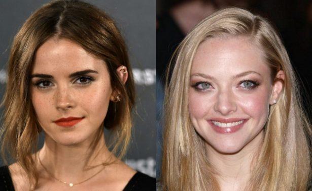 Difunden fotos íntimas de Emma Watson y Amanda Seyfried