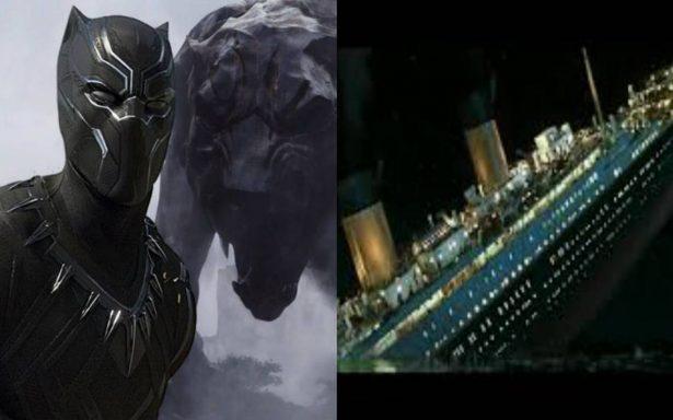 """""""Black Panther"""" supera a """"Titanic"""" en filmes taquilleros en EU"""