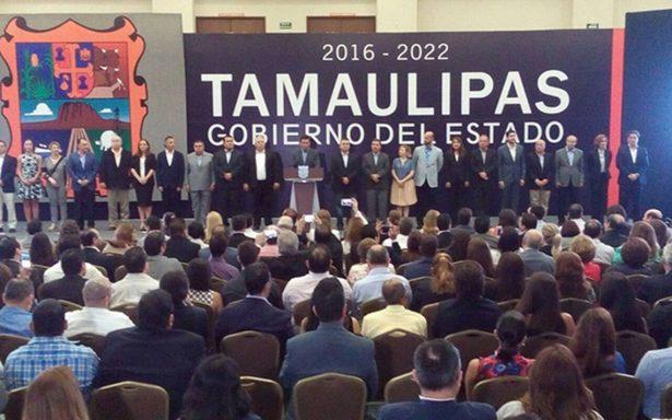 Cabeza de Vaca toma protesta como gobernador de Tamaulipas