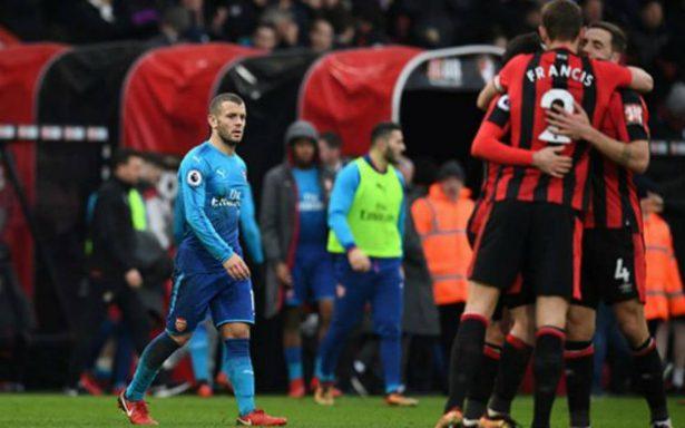 ¡El Arsenal está en crisis! El modesto Bournemouth los derrotó