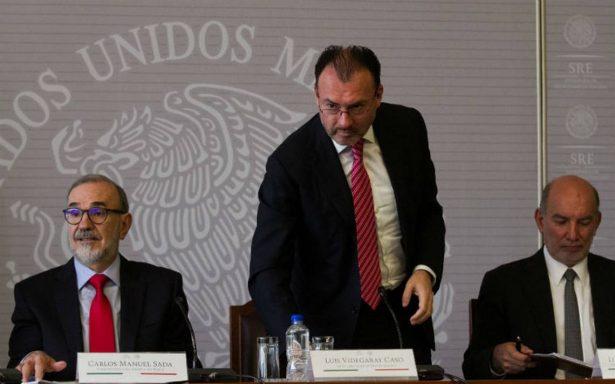 Anuncia Videgaray que dejará la política tras sexenio de Peña Nieto