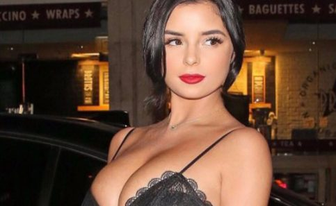 Demi Rose, la doble de Selena Gomez, presume cuerpazo