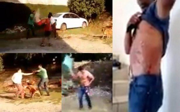 [Video] Mujer explota contra su pareja por separación y ¡le prende fuego!
