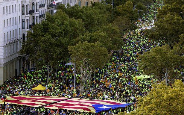 Megamarcha en Cataluña demuestra ánimos de independencia