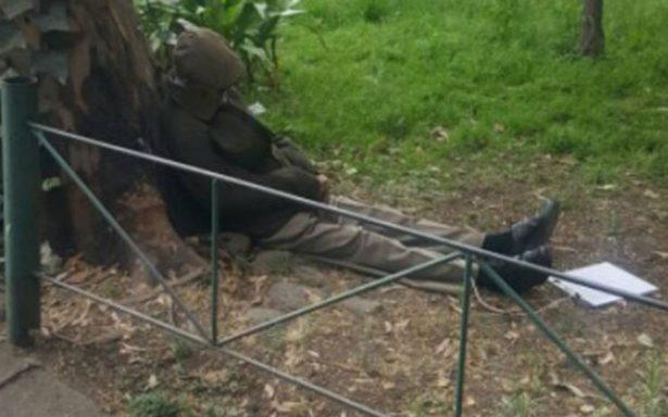 Abuelito se suicida en jardín de Tlatelolco, no quería vivir con Alzheimer