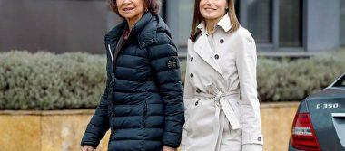 ¿Reconciliación? Captan sonrientes a la Reina Letizia y doña Sofía