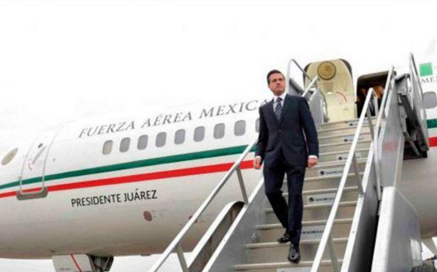 Peña Nieto realizará gira de trabajo en Alemania, Países Bajos y España