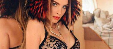 Critican a Belinda por nueva foto. ¿Exceso de photoshop o abdomen de acero?
