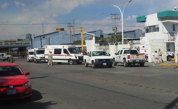 Explosión en refinería de Pemex en Salamanca deja 8 heridos
