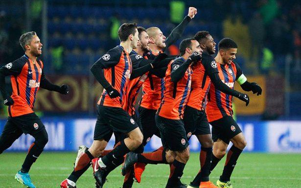 Shakhtar ganó 2-1 a Roma en la Champions League