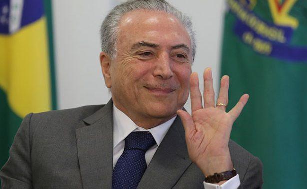 Escándalo de corrupción pone en riesgo gabinete de Michel Temer en Brasil