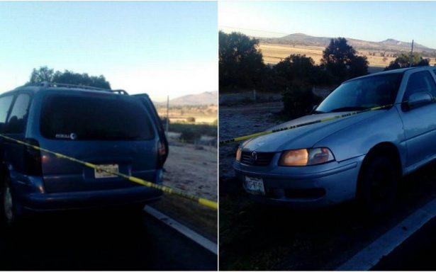 Encuentran cuatro cadáveres a un costado de la México-Tuxpan