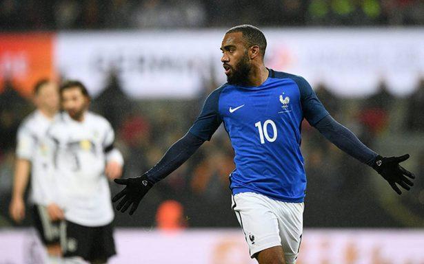 Alemania empató 2-2 ante Francia