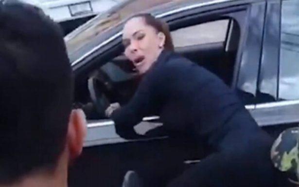 [Video] Así fue la reacción de Sharis Cid al ver su esposo asesinado