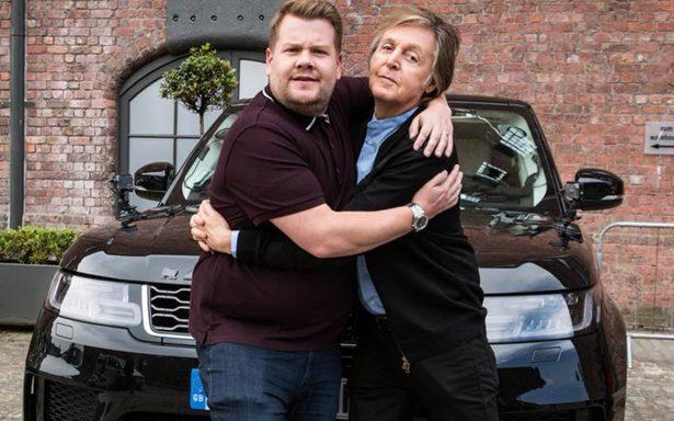 Paul McCartney hace historia en el Carpool Karaoke y Corden llora de emoción