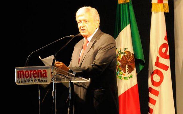 Morena ratifica a López Obrador como su candidato a la Presidencia