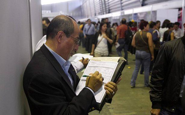 México registra la tasa de desocupación más baja en 12 años