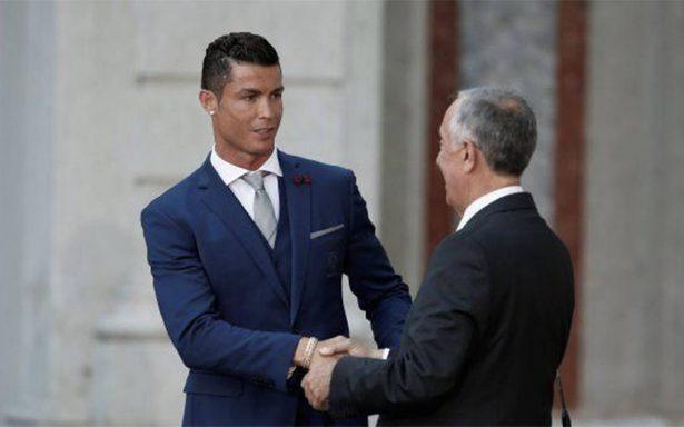 Presidente de Portugal defiende a Cristiano Ronaldo ante acusación de violación