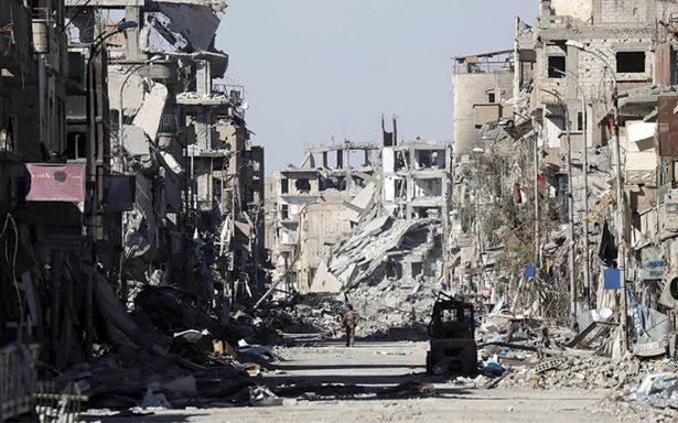 """EU """"borró de la faz de la tierra"""" la ciudad de Raqa, acusa Rusia"""