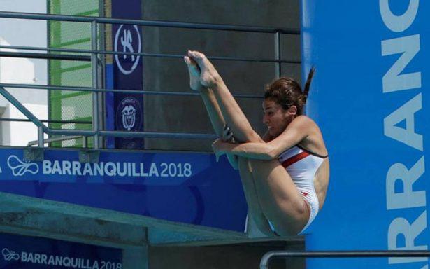 Paola Espinosa y Carolina Mendoza logran plata y bronce en clavados