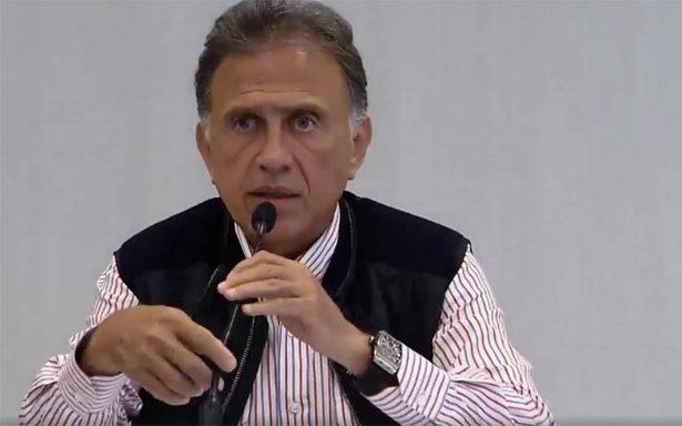 Ante señalamientos, Miguel Ángel Yunes niega poseer reloj de 6 millones de pesos