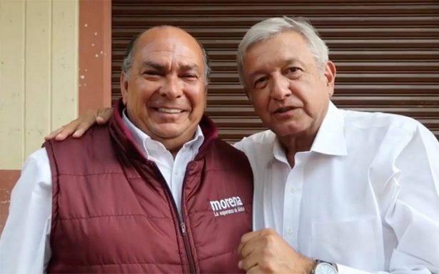 Papá de Checo Pérez refuerza 'escudería' de AMLO en Jalisco