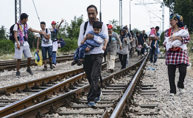 La N'drangheta se enriquecía  con migrantes