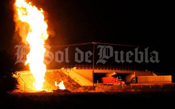 [Video] Terror en Ocotitlán, explota toma clandestina de gas LP