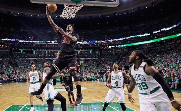 Bulls aplasta a Celtics en los playoffs