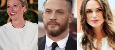 Reina Isabel condecora a Emma Thompson, Keira Knightley y Tom Hardy