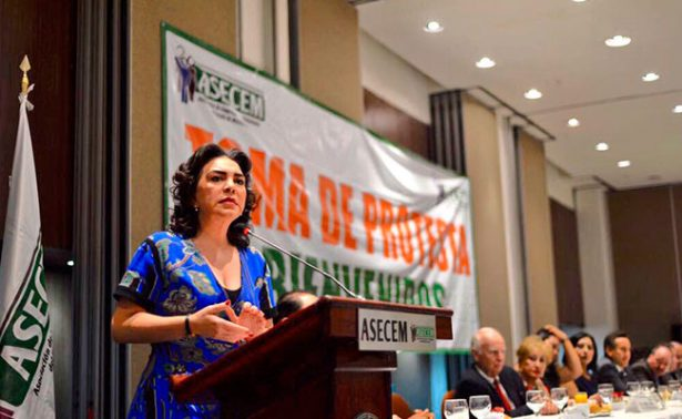 Confía Ivonne Ortega que a la Asamblea no solo lleguen a levantar la mano