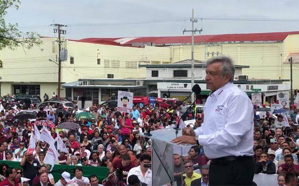 Nuestro pueblo no va a ser piñata de ningún gobierno extranjero: AMLO en su gira por Tamaulipas