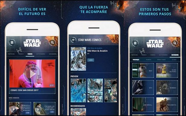 Adéntrate al universo digital de Star Wars con nueva app