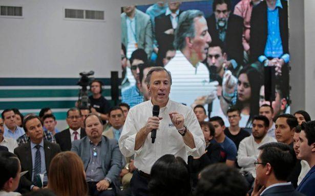 """""""A chingarle"""" hasta ganar elecciones dice Meade ante simpatizantes de Jalisco"""