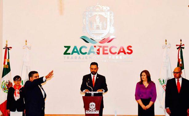 Un Policía Federal, nuevo titular de SSP en Zacatecas