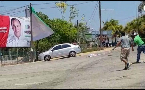 Meade condena agresiones de la CNTE en Oaxaca y culpa a AMLO