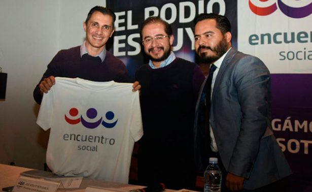 Del futbol a la política… Adolfo Ríos, nuevo líder de Encuentro Social en Querétaro