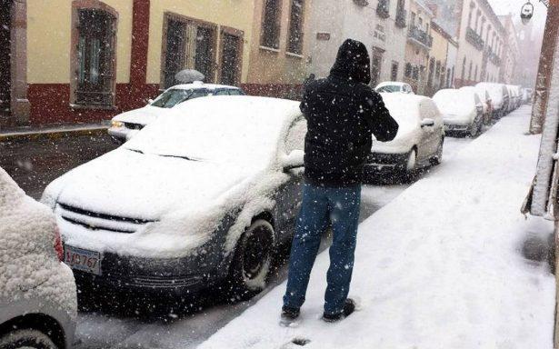Llegan las primeras nevadas a México