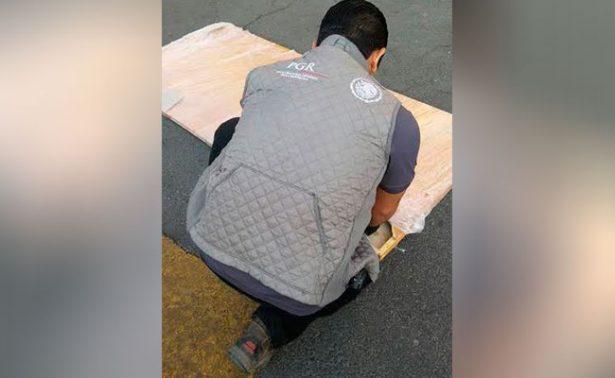 PGR halla en Jalisco 35 kilos de marihuana en puertas