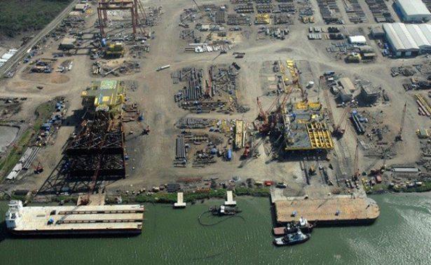 Siguen paralizadas constructoras de plataformas en Veracruz