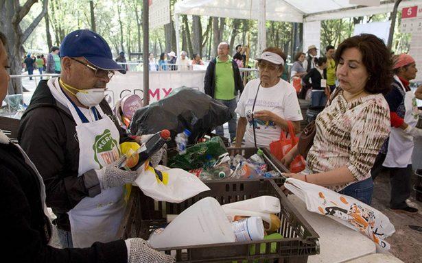 Trae tus reciclables al Mercado de Trueque en Chapultepec y llévate comida