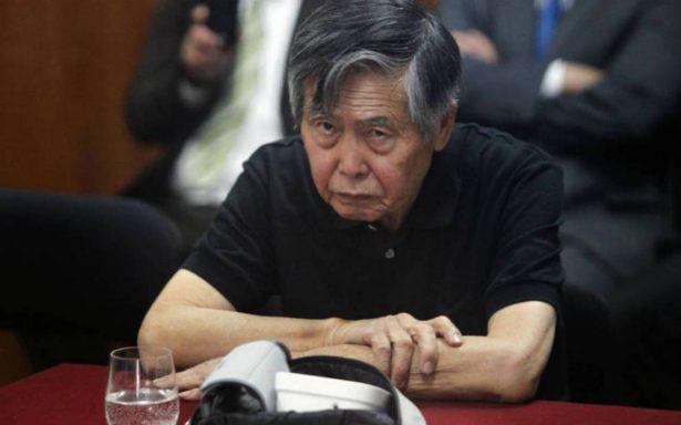 Justicia peruana anula indulto a Alberto Fujimori y ordena su captura