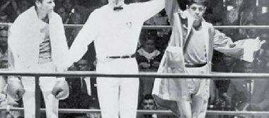 Ricardo Delgado ganó oro en la final de peso mosca en México 68