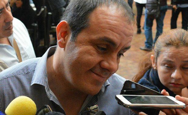 Niega Cuauhtémoc que quiera ser gobernador de Morelos