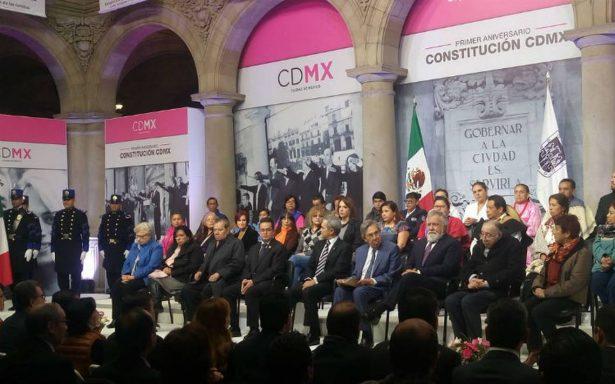 Constitución CDMX, punta de lanza para un cambio de régimen hacia un gobierno de coalición: Mancera