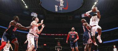 LeBron James se consagra con triple doble en juego contra Washington Wizards
