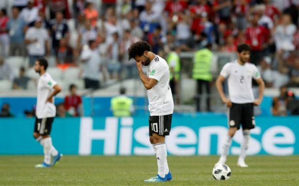 Salah se va del Mundial marcando en la derrota 2-1 ante Arabia Saudita