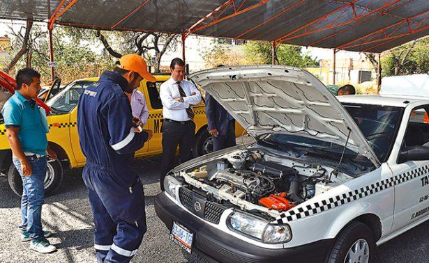Revisa IQT unidades de transporte público de Querétaro