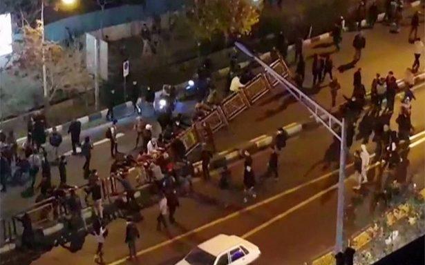 Crisis en Irán: protestas dejan un policía muerto y tres heridos