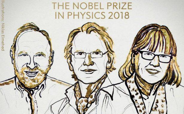 Tres científicos, entre ellos una mujer ganan premio Nobel de Física por avances en tecnología láser